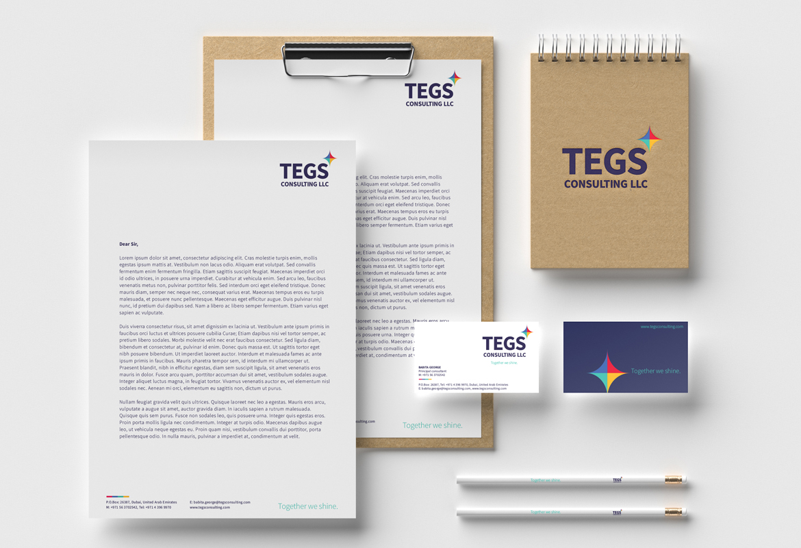 Tegs Consulting LLC - Brand identity